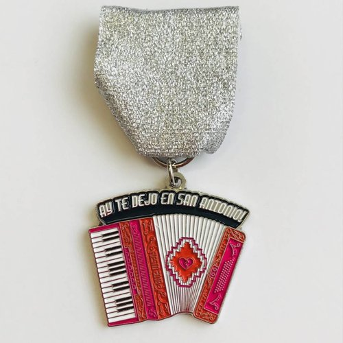 #73B- S.A.Flavor- The Accordion Medal -2018