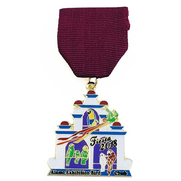 #72B- Alamo Exhibition Bird Club Medal - 2018