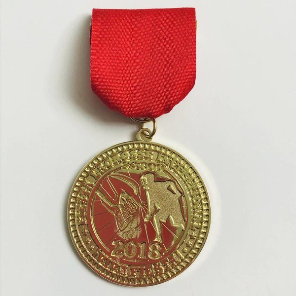 #79 San Antonio Lacrosse Association Medal -2018