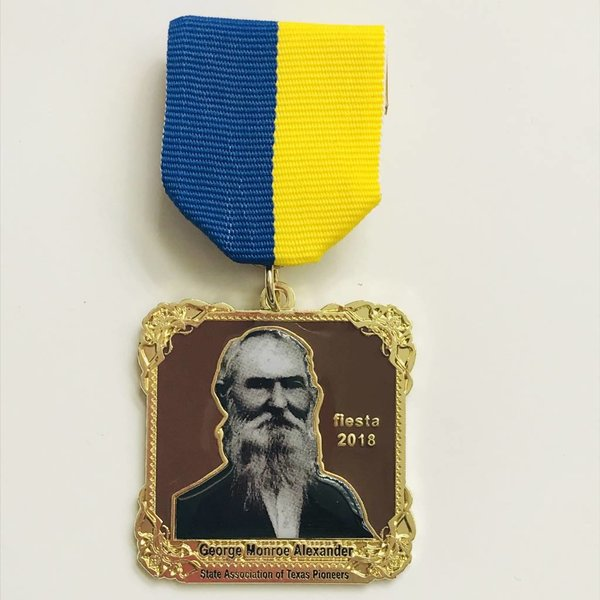 #81 State Association of Texas Pioneers Medal -2018