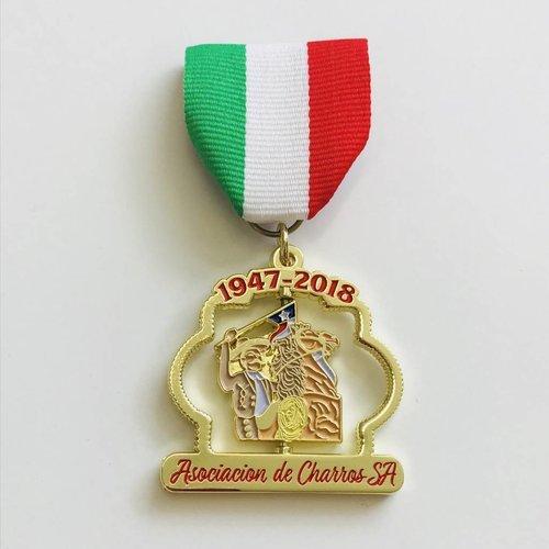 #97 Asociacion De Charros de San Antonio Medal -2018