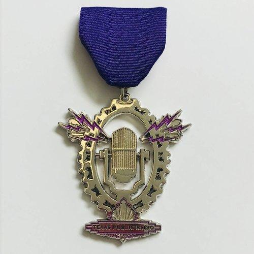 #101 Texas Public Radio Medal -2018