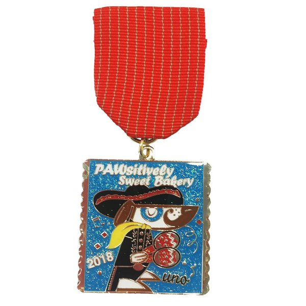 #102D- PAWsitively Bakery- Mariachi Set of 3 Medals - 2018