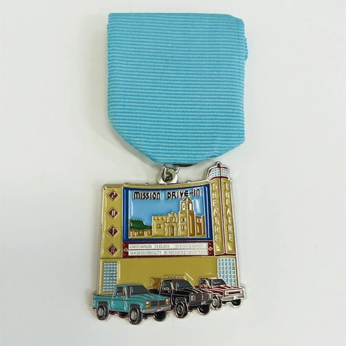 #52D-2- S.A. Flavor - MISSION DRIVE - IN MEDAL -2018