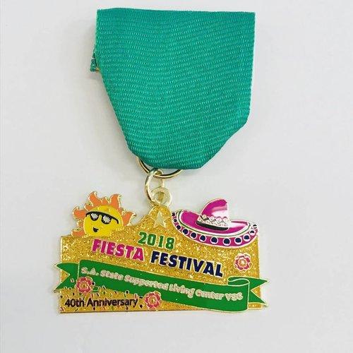 #111A- San Antonio State Support Living -Fiesta Festival -Green 2018