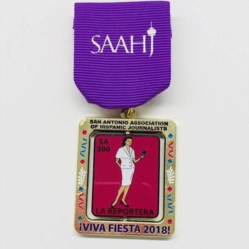 #113 San Antonio Association of Hispanic Journalist Medal-2018