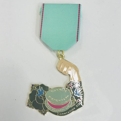#115-A - Fiesta Cornyation - King Anchovy Medal -2018