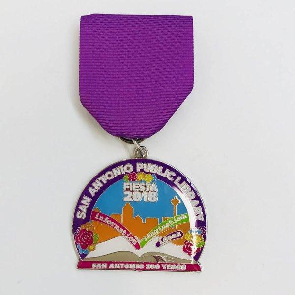 #117 San Antonio Public Library Medal-2018