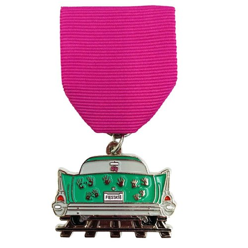 #52 S.A. Flavor - Ghost Track Medal -2018