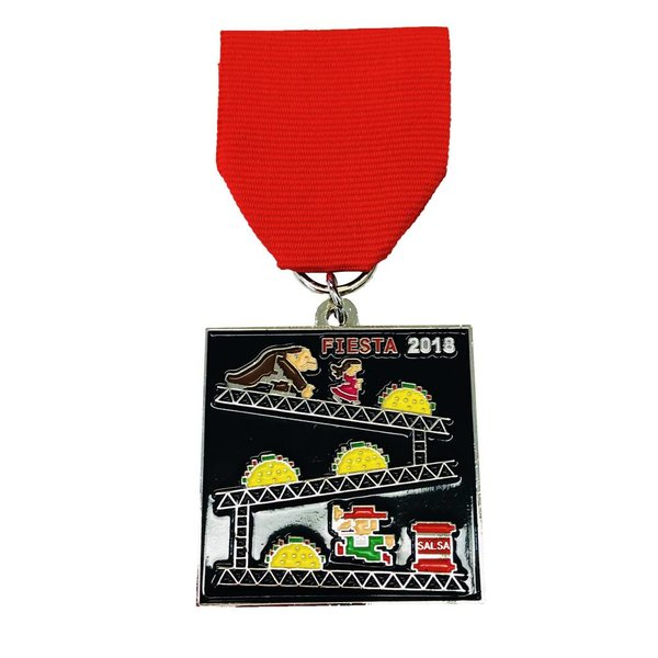 #52-C-1 S.A. Flavor Donkey Kong Medal -2018
