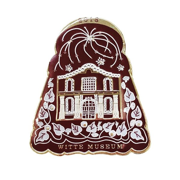 #109A- The Witte Museum Pin - 2018