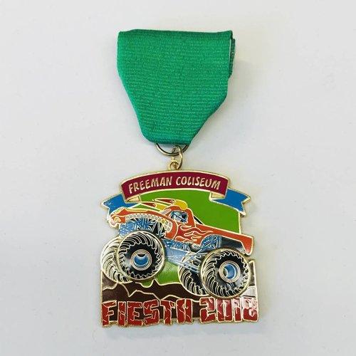 #121Freeman Coliseum Medal -2018