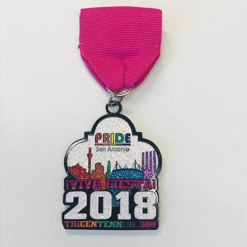#122 Pride Of San Antonio Medal-2018
