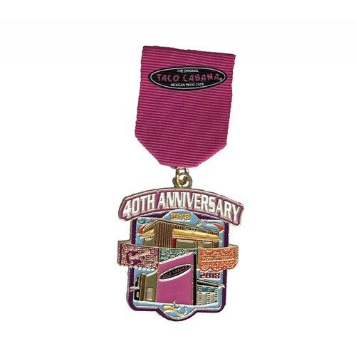 #119A - Taco Cabana 40th Anniversary Medal -2018