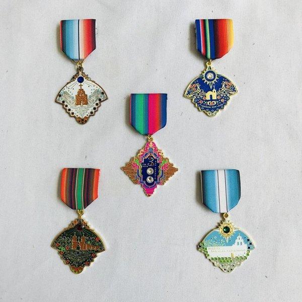 2018 Mission San Jose Medal Set