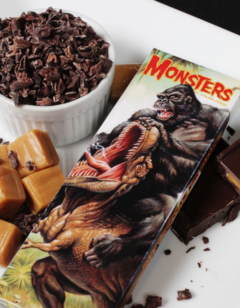 Famous Monsters Bar - King Kong & T-Rex