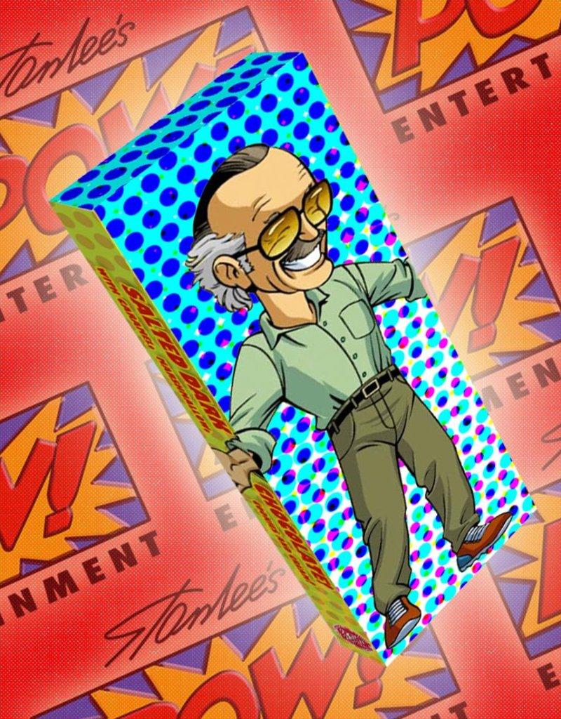 Stan Lee - Dark Chocolate Bar