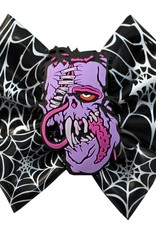 Toxic Toons Hairbow Purple Zombie
