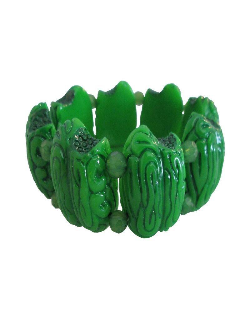 Zombie Brain Bead Bracelet