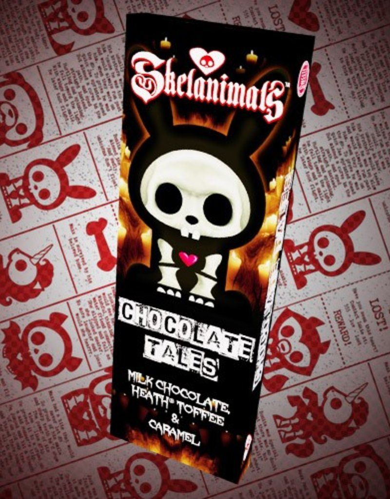 Skelanimals Chocolate Tales Bar