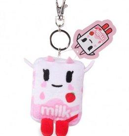 tokidoki - Strawberry Milk Plush Keychain