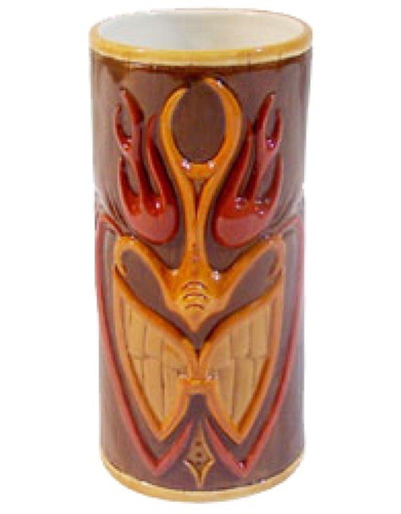 Flame-A-Huna Mug (6in) - Brown
