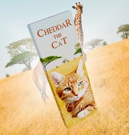 Cheddar the Cat Chocolate Bar
