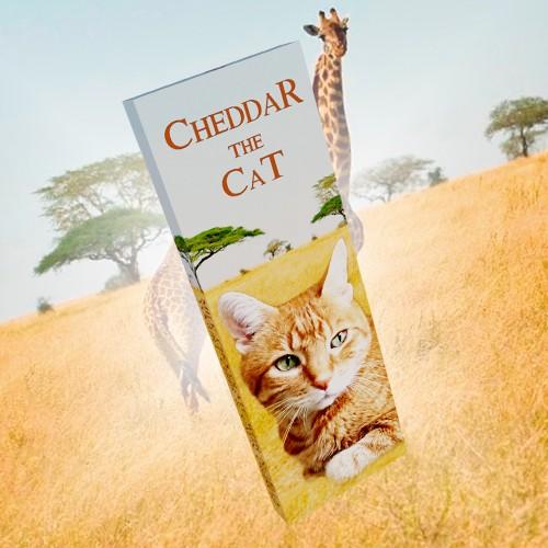Cheddar the Cat Chocolate Bar