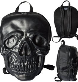 Skull Backpack - Black