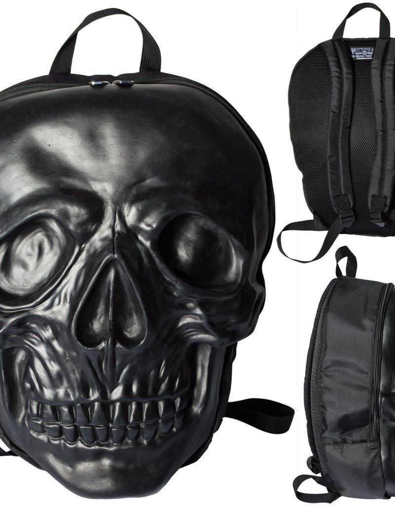 Skull Backpack - Black