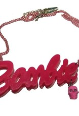Pink Zombie Necklace