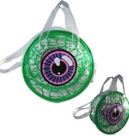 Transparent Eyeball Bag - Green