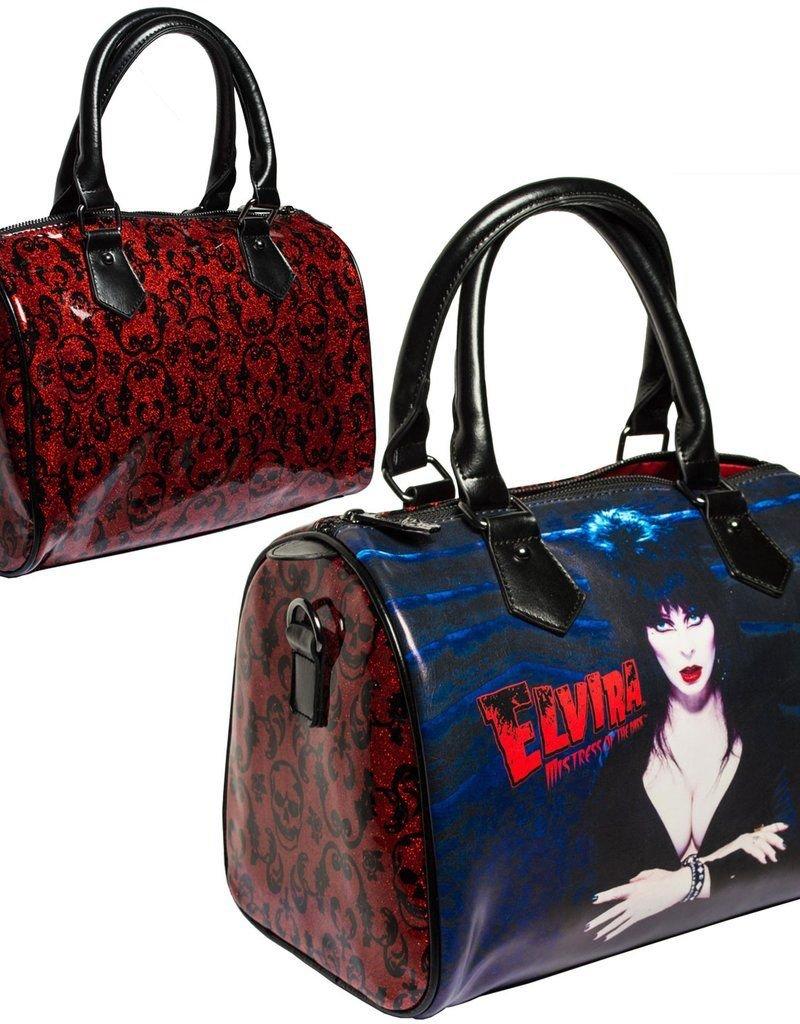 Elvira Glitter Red Bag