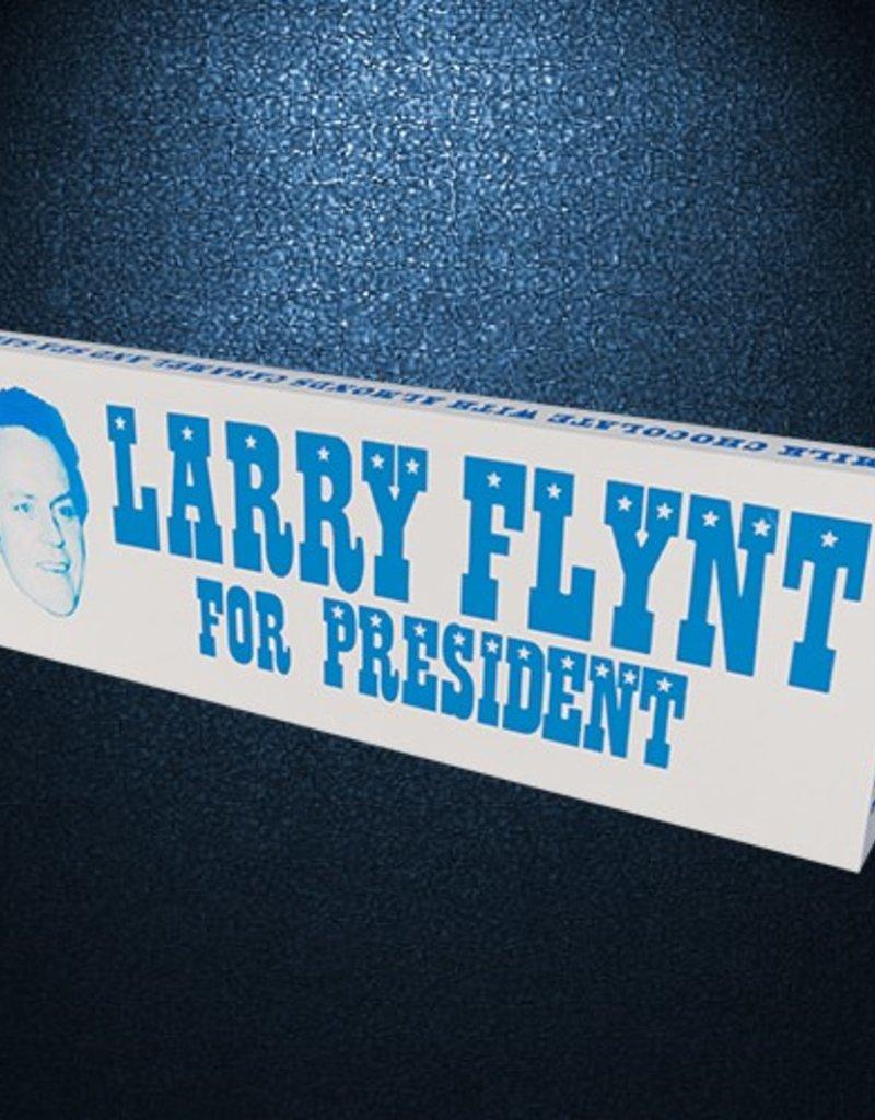 Hustler Larry Flynt For President Bar with Almonds