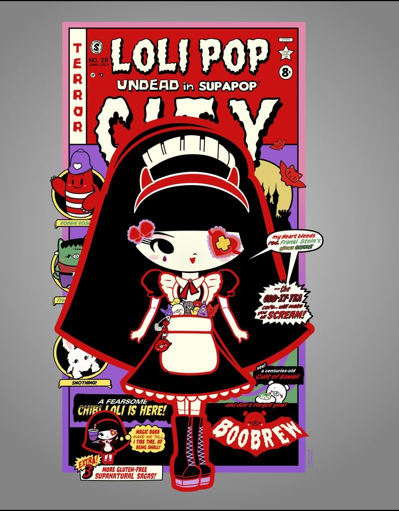 Sean Danconia - SupaPop Lolli Pop Juniors Tee