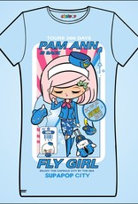 Sean Danconia - Supapop Fly Girls Juniors Tee
