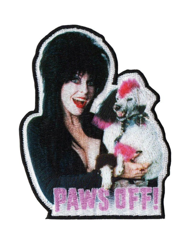 Elvira Paws Off Patch