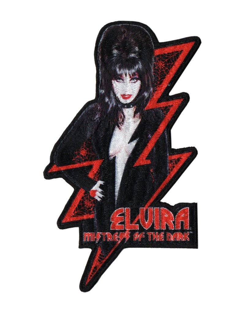 Elvira Red Bolt Patch