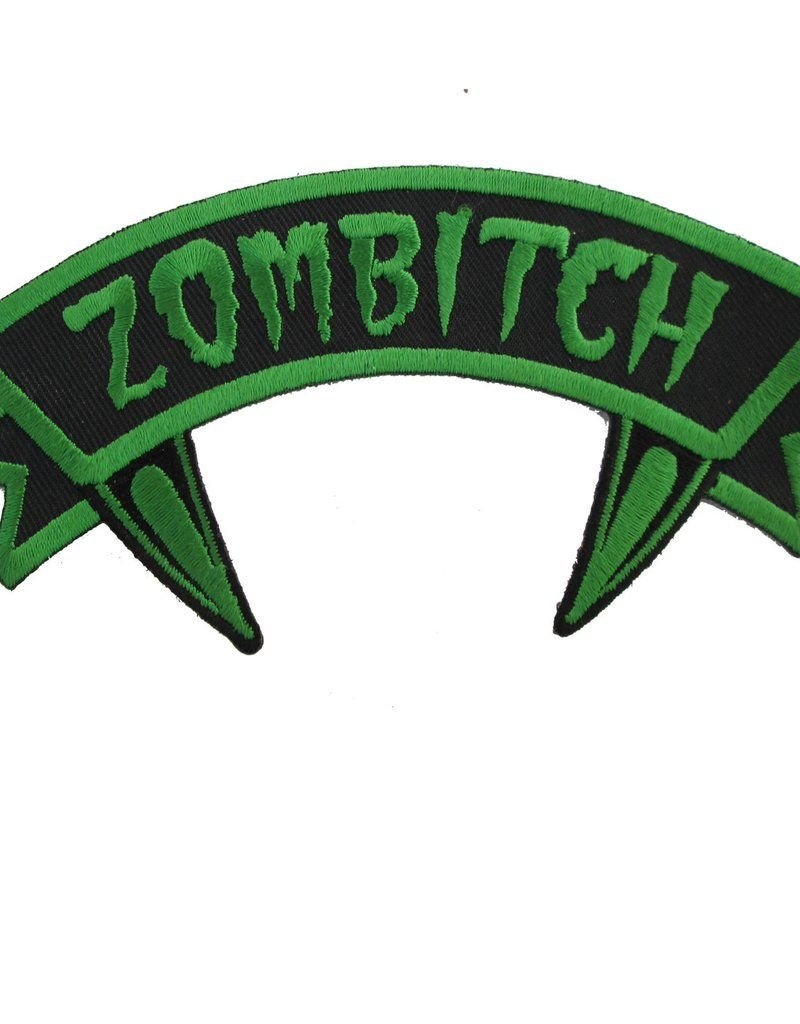 Zombitch Green Arch Patch
