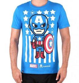 tokidoki - Captain America 2016 Mens Tee