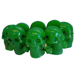 Skull Collection Bracelet - Green