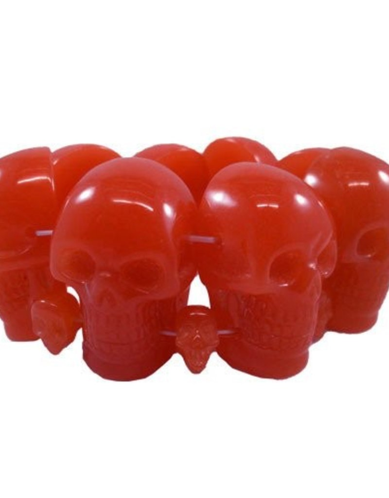 Skull Collection Bracelet - Red