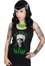 Elvira Bat Hair Day Beater Tank