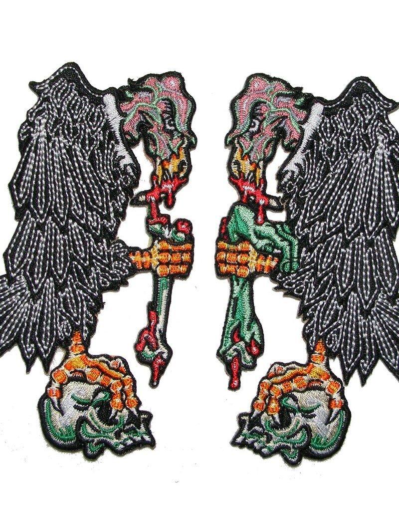Vulture Patch Pair