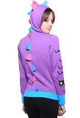 Waffle Women's Hoodie - Purple