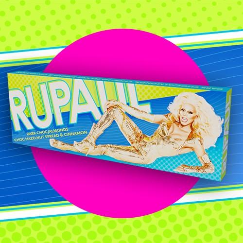 RuPaul Dark Chocolate Bar
