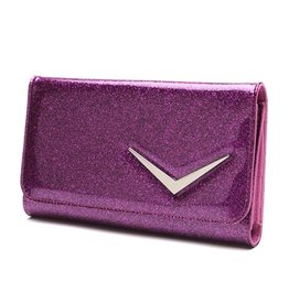Getaway Wallet - Electric Purple Sparkle