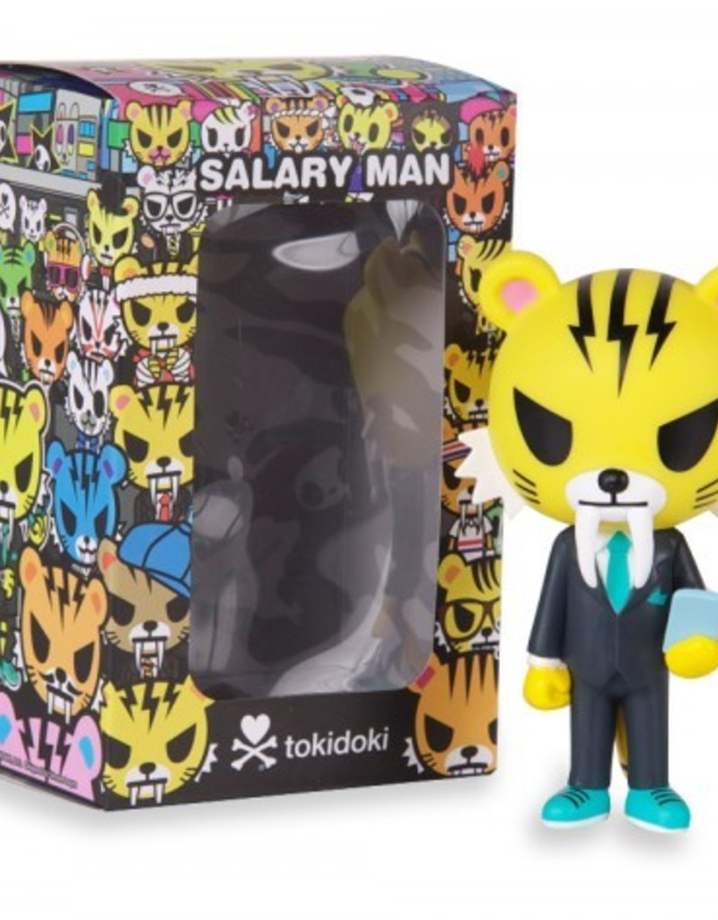 tokidoki - Salary Man Tiger Vinyl