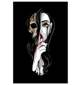 Death is Silent - 8x12 Print