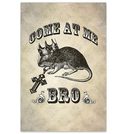 Come At Me Bro - 8x12 Print